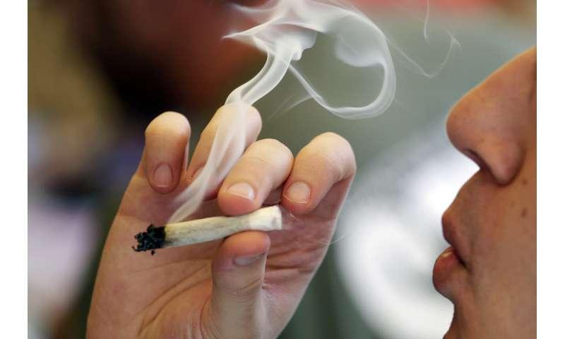 Teen odds of using marijuana dip with recreational use laws