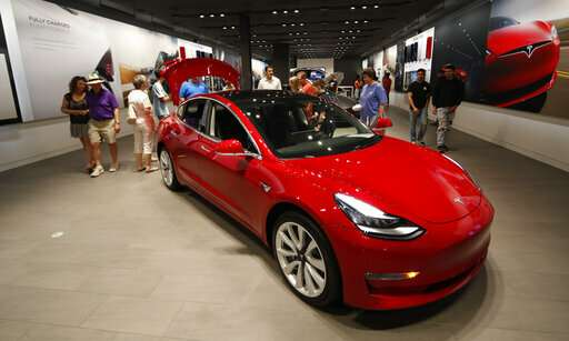 Tesla defies convention and pays for it as shares slide