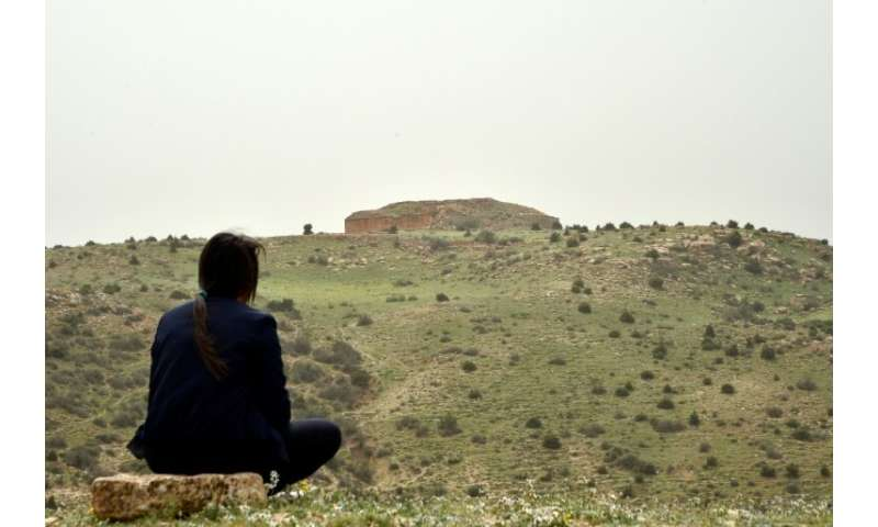The 13 tombs, whose square stone bases are topped with angular mounds, are on two hills near the city of Tiaret, some 250 km (15