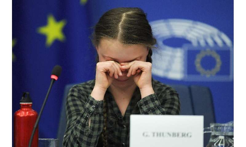 "The 16-year-old climate activist Greta Thunberg has warned politicians in Brussels they will be ""remembered as the greatest"