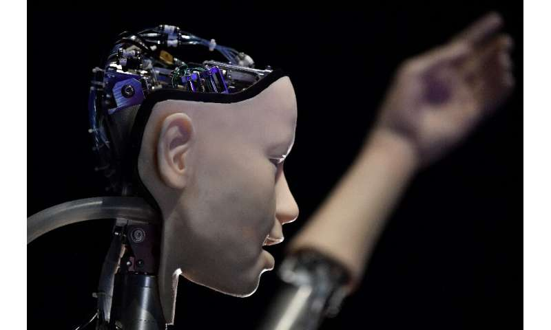 """The AI exhibition is only one part of a larger project called """"Life Rewired"""", which explores the impact of technology"""