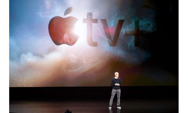 The Apple TV+ on-demand streaming service was set to debut in more than 100 countries at $4.99 per month