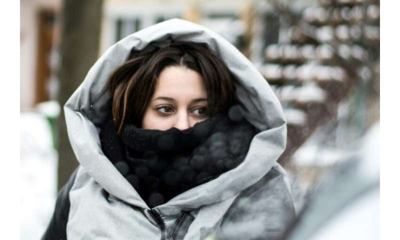 The arctic chill descended from Canada, where residents of Montreal were dealing with the severe winter cold—which even prompted
