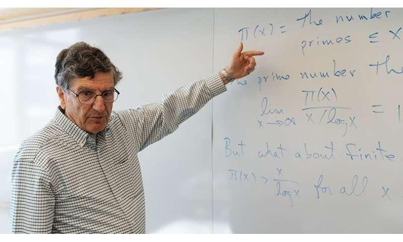 'The Big Bang Theory' Takes Math Notes From Carl Pomerance
