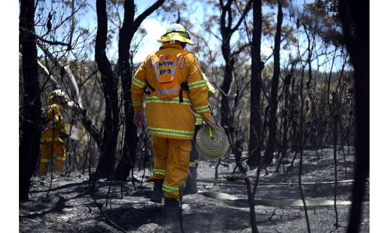 The Blue Mountains  have already been hit by bushfires