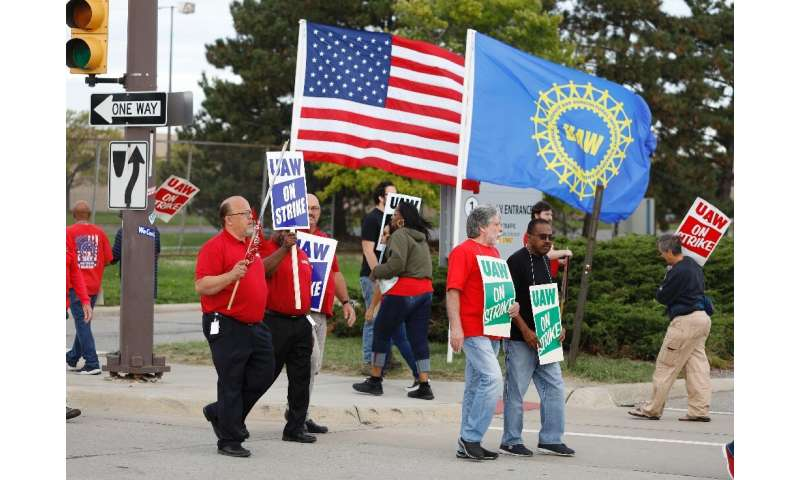 The economic hit from the General Motors strike has grown since the strike began September 16