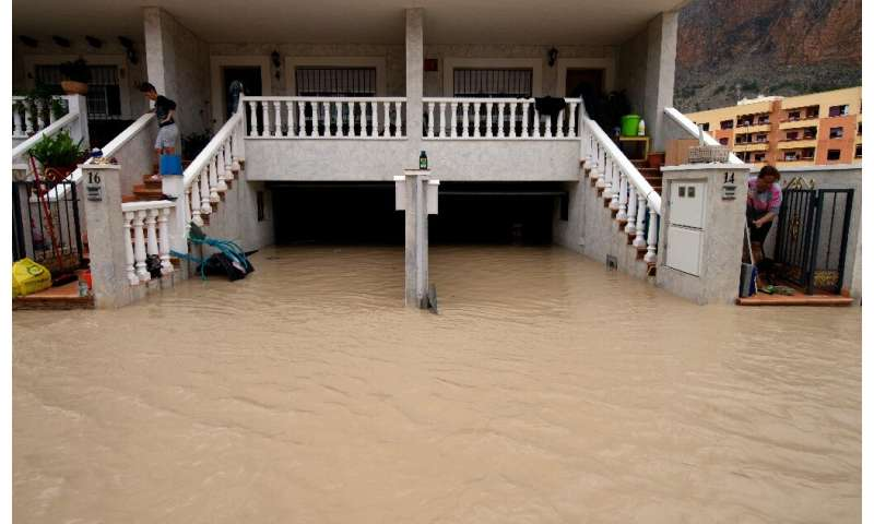 The flooding and heavy rains have forced some 3,500 people out of their homes
