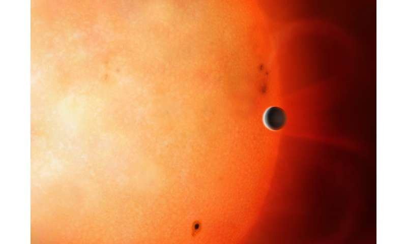 The 'Forbidden' planet has been found in the 'Neptunian Desert'