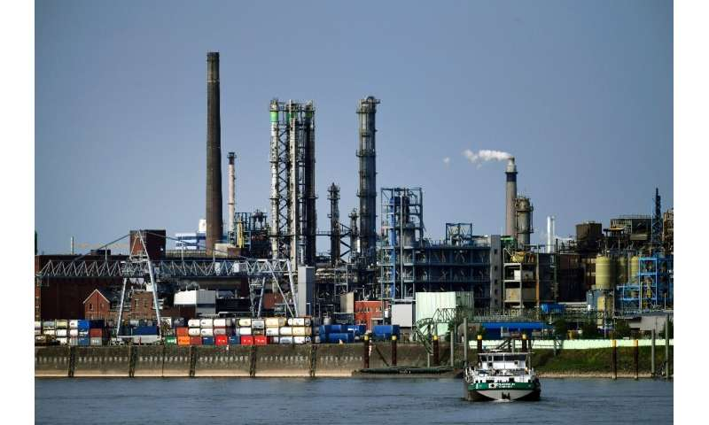The German chemical industry has put a price tag on going carbon neutral