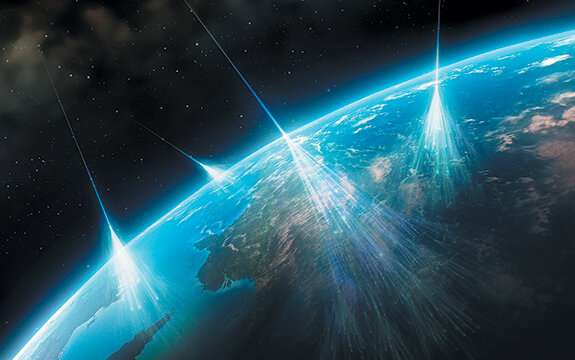 The gold at the end of a cosmic ray