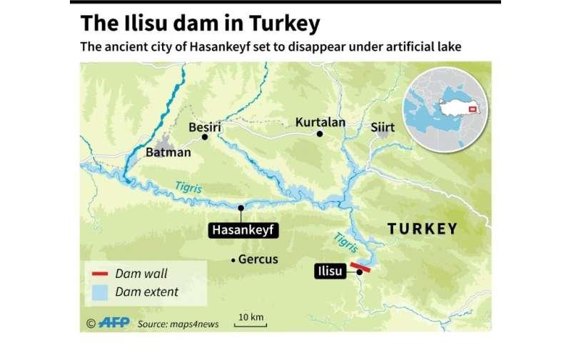 The Ilisu dam in Turkey