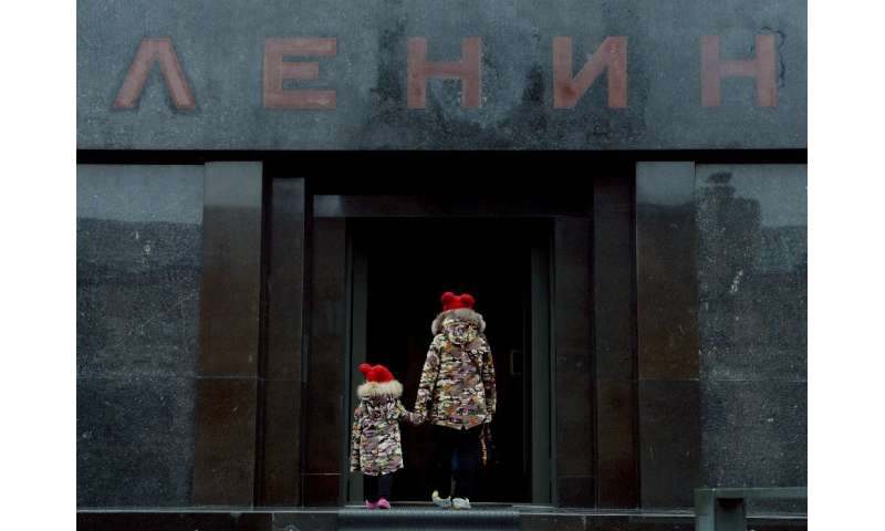 The mausoleum of Soviet state founder Vladimir Lenin is another must see for tourists