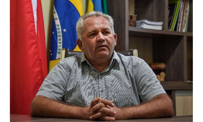 The mayor of Itaituba, Valmir Climaco de Aguiar, predicts an explosion in truck traffic as grain exporters build more ports on t