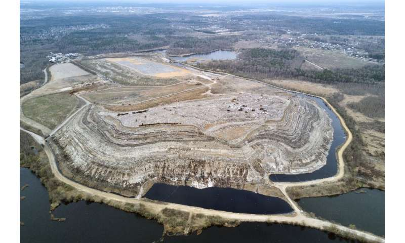 The Moscow region's Timokhovo solid waste landfill is one of the biggest in Europe