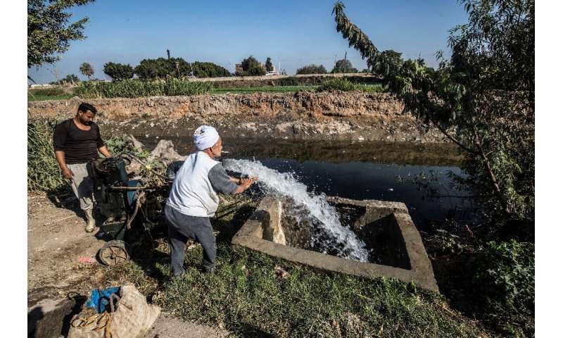 The Nile is a lifeline to Egypt, where 95 percent of the country's 100 million people live along its banks