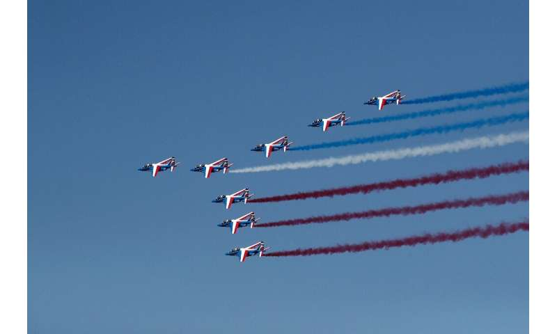 Safety and pollution top of the agenda as Paris Air Show opens