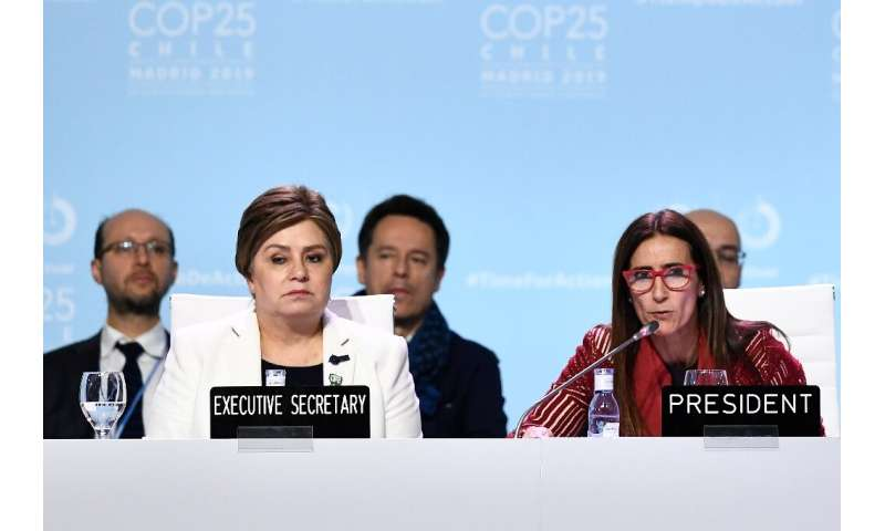 """The Paris treaty goals of capping global warmiThe COP25 deal """"expresses the urgent need"""" for new carbon cutting commit"""