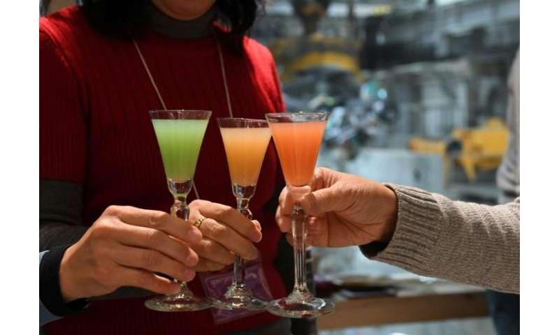 The pop-up bar is one of the more unusual spots in Tokyo for an after-work tipple