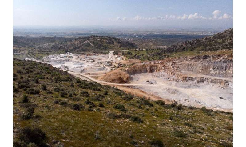 The quarry extraction process often comes with deforestation, air pollution and disruption of traditional human activities