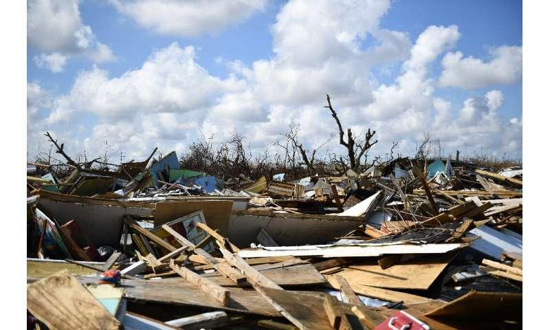 "The ""Mudd"" neighborhood of Marsh Harbour, Great Abaco, after Hurricane Dorian passed through"