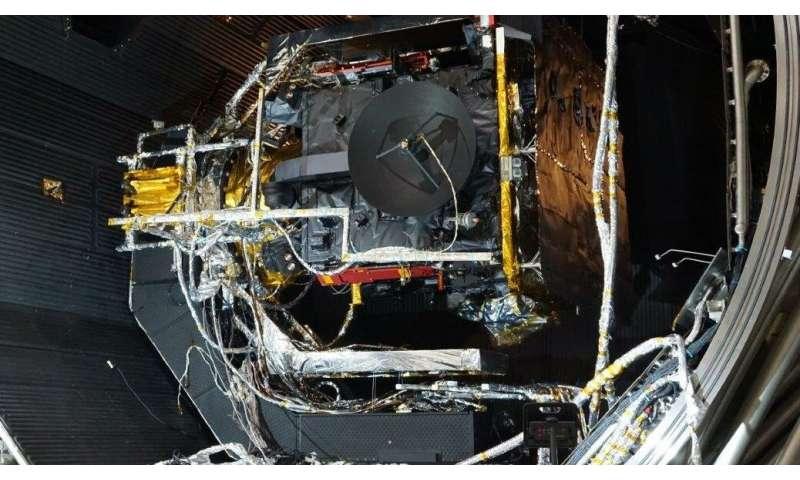 Thermal testing of Solar Orbiter
