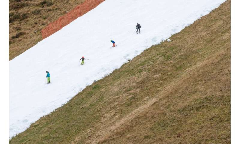 The slope in the popular resort has proved popular with ski enthusiasts and those training for competitions