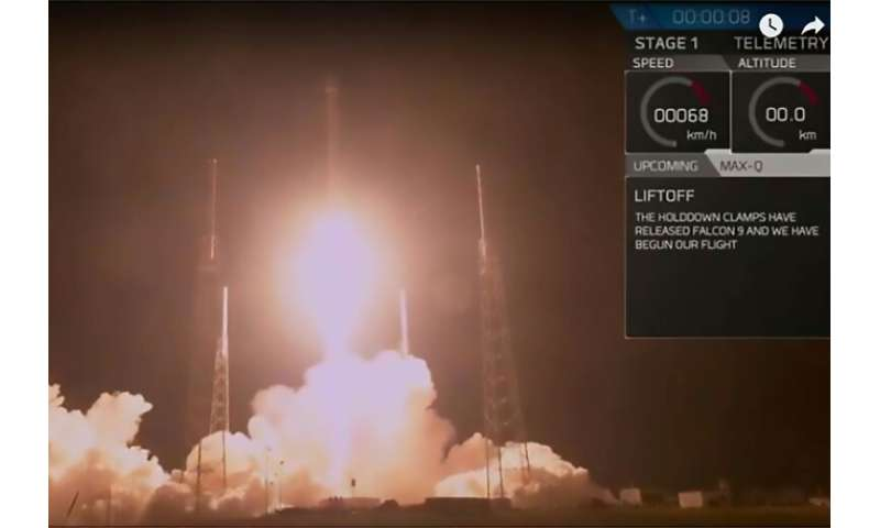 The SpaceX launch of the secretive US government satellite known as Zuma, in January 2018 at Cape Canaveral, Florida: Zuma's pur