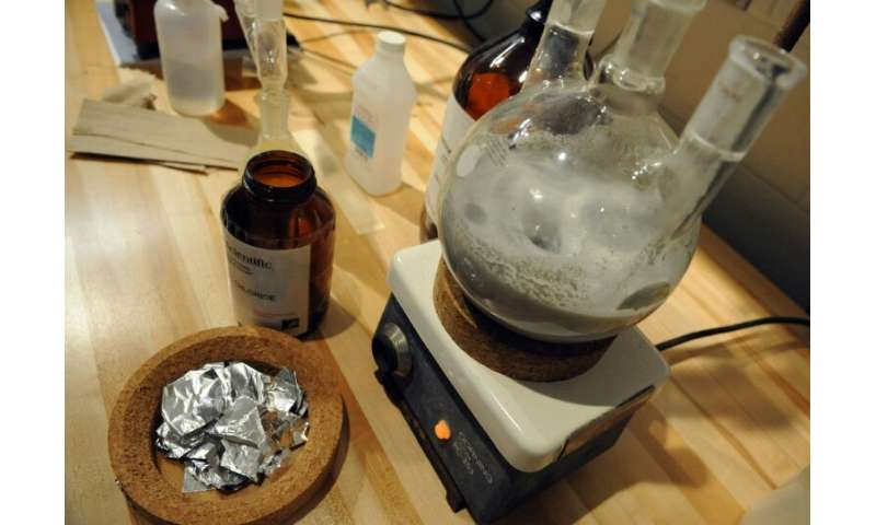 The students were encouraged to make the drugs as part of their education