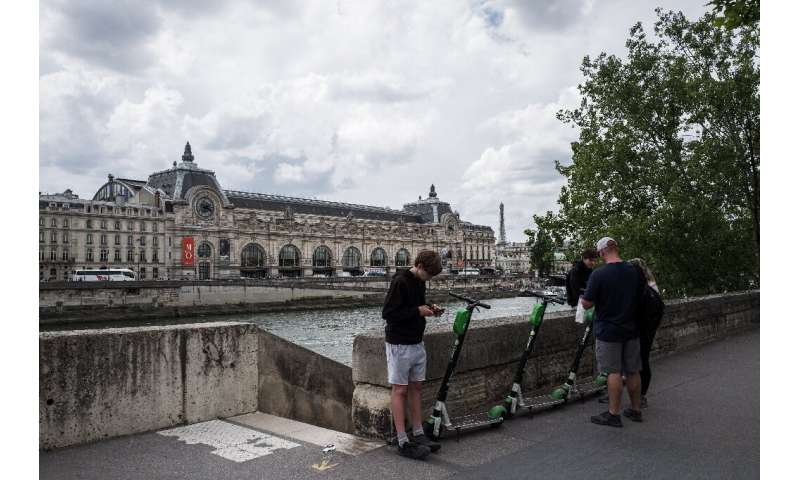 The surge of electric scooters in Paris and other French cities is fuelling questions about their true environmental impact