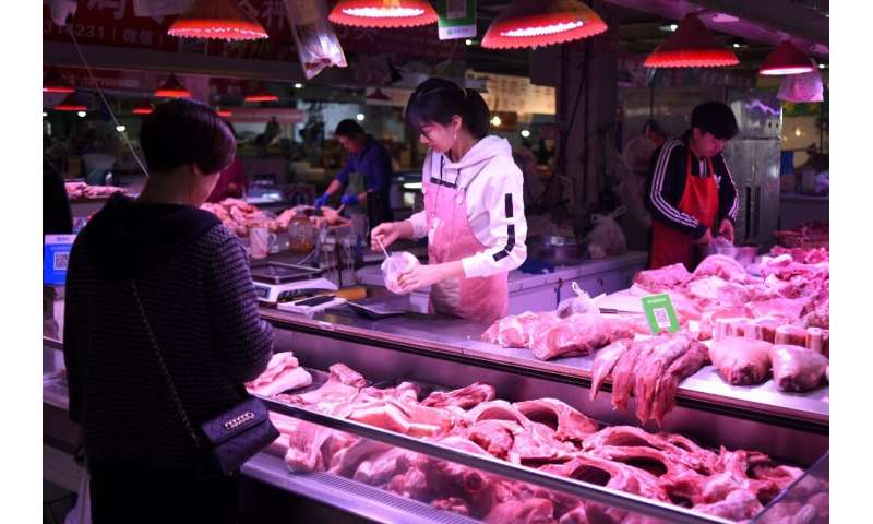 The swine fever outbreak has decimated China's pig herd and sent pork prices soaring