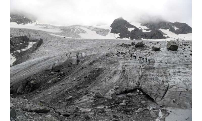 The team found manmade radioactive material in all 17 glaciers sites they surveyed