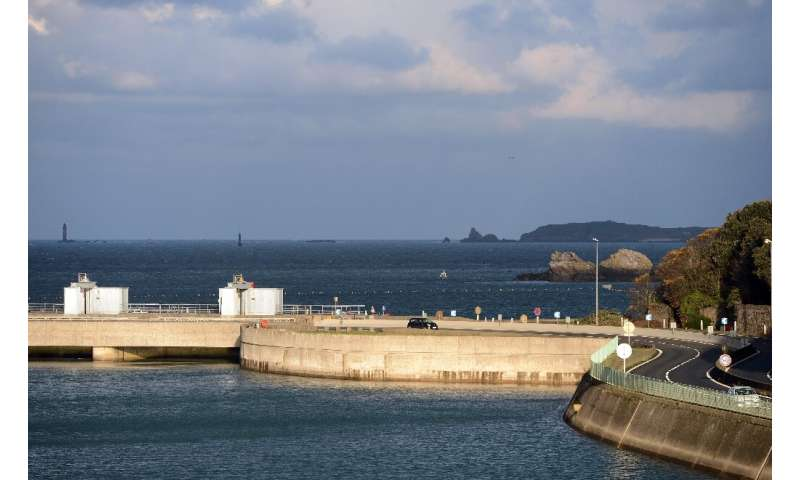 The tidal power plant on France's Rance river in Brittany remains the sole power station of its type in France and one of only t