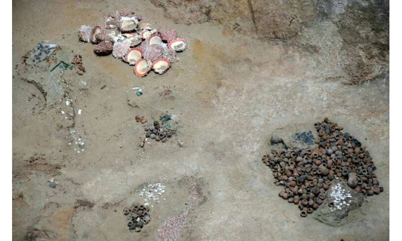 The tomb had been broken into multiple times, possibly in search of treasure
