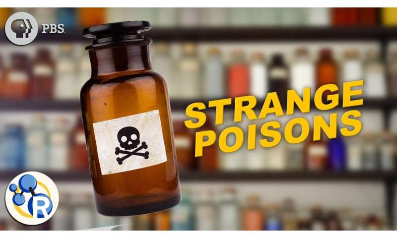 The top five strangest poisons that can kill you (video)