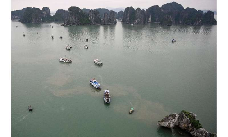 The tourist boom has prompted environmental concerns in the once-pristine bay