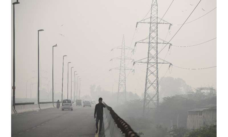 The toxic air in New Delhi has taken pollution levels to almost 20 times World Health Organisation safe limits