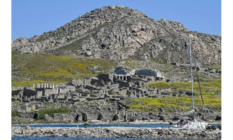 The UNESCO World Heritage listing for Delos describes it as an 'exceptionally extensive and rich' site