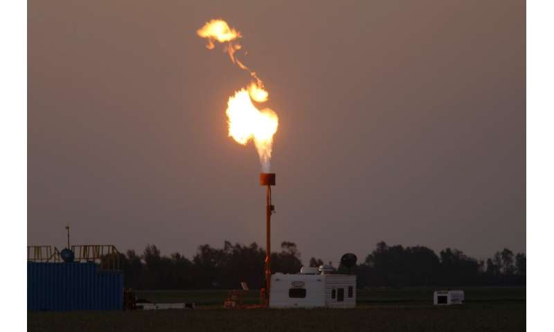 The US Environmental Protection Agency said plans to roll back limits on methane leaks from pipelines and wells would save the o