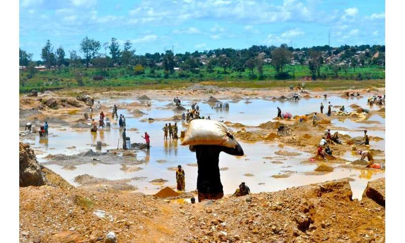 The way that minerals are mined affects conflict in eastern Congo
