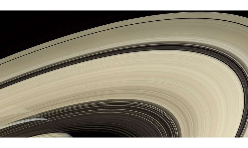**Think Saturn's rings are old? Not so fast