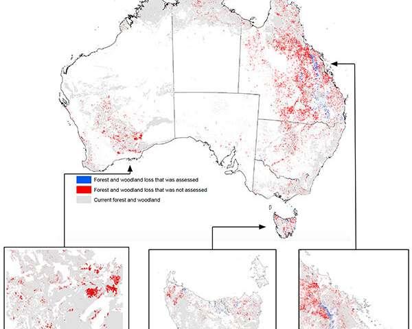 Threatened species habitat destruction shows federal laws are broken