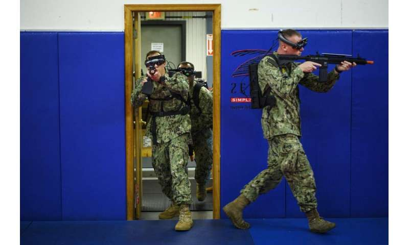 TRACER: Sailors use augmented-reality to train for combat