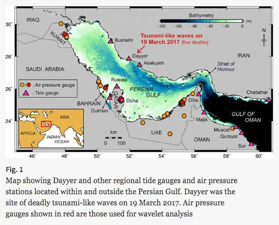 Tsunami-safe Gulf is nothing but, experts warn