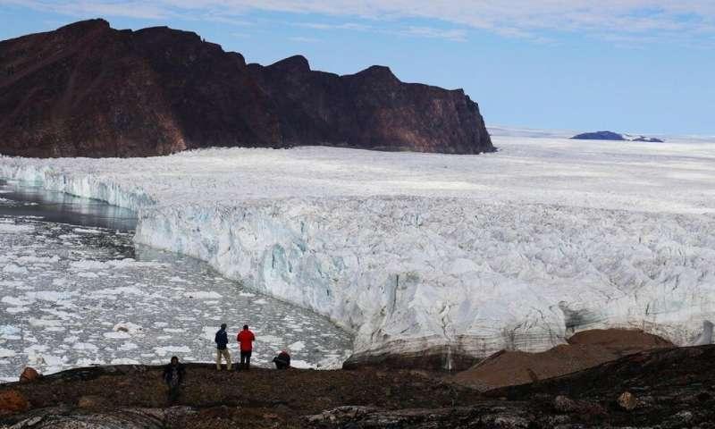 Tsunami signals to measure glacier calving in Greenland