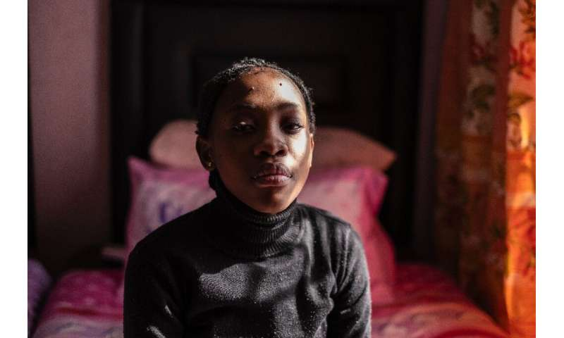 Tumelo Ledwaba is one of many in the area who is suffering from breathing problems, according to activists