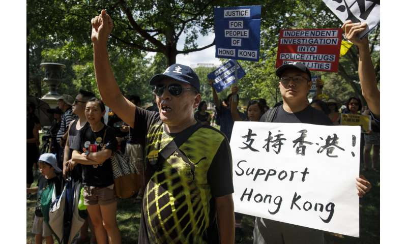 Twitter shuts Chinese accounts targeting Hong Kong protests