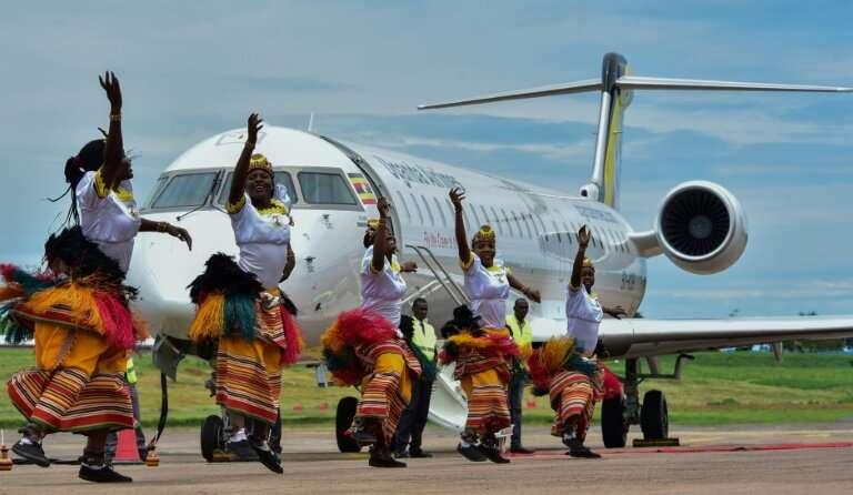 Resultado de imagen para uganda airlines restart