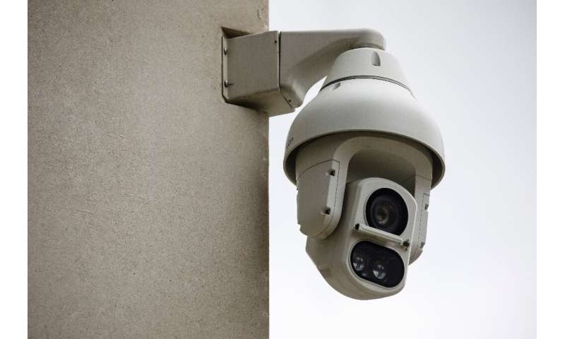 Two surveillance cameras were installed in London to analyse and track passers-by using facial recognition technology.