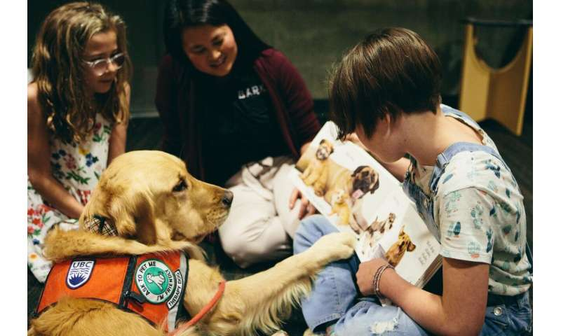 UBCO study demonstrates dogs promote page turning