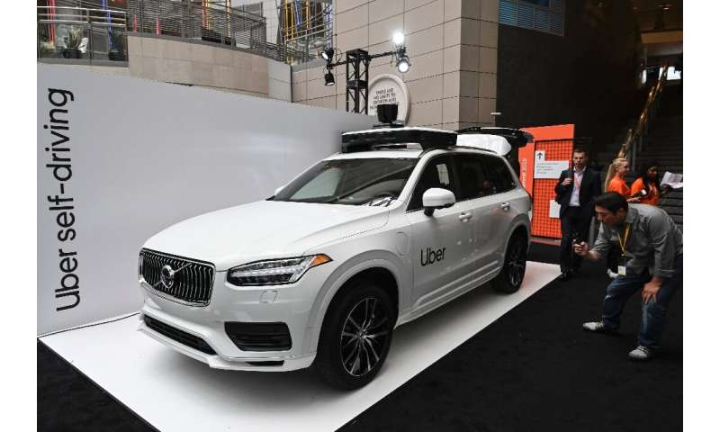 Uber unveiled its newest self-driving vehicle produced by Volvo Cars at its Uber Elevate summit in Washington in June